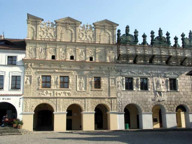 Kazimierz Dolny kamienice Przybyłów