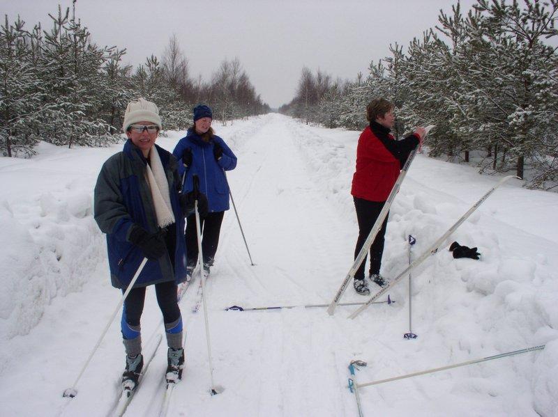 Smarowanie nart