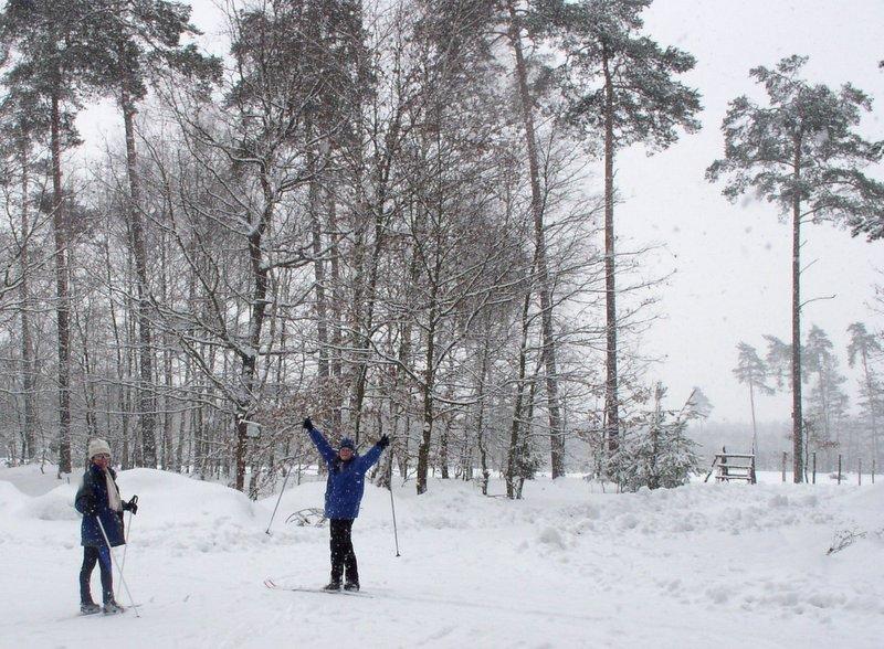 Rudy Raciborskie - narty biegowe