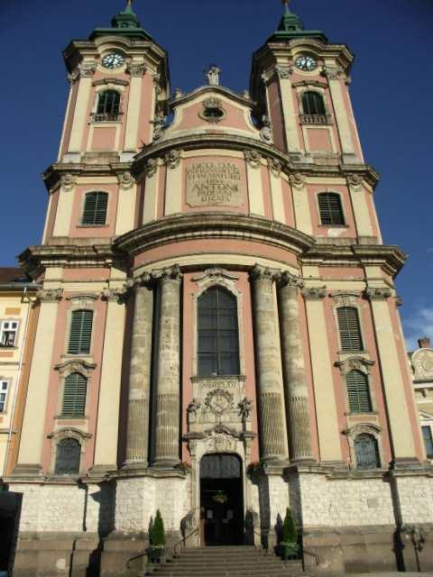 Eger, barokowy kościół minorytów