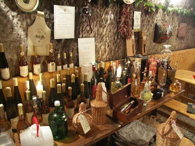 Eger, piwnice z winem