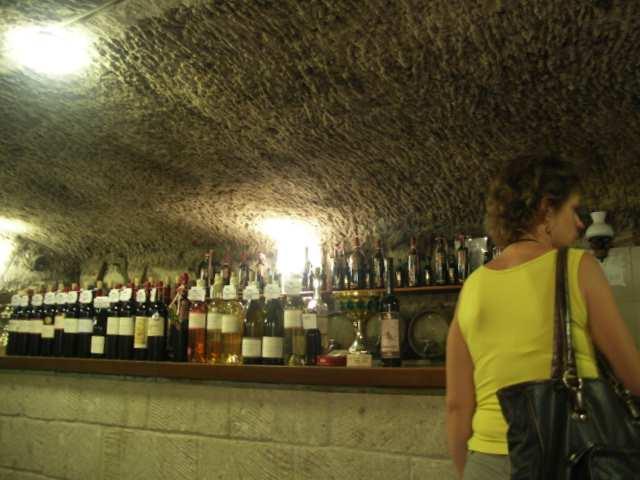 Eger, Węgry, zakup wina, piwnica