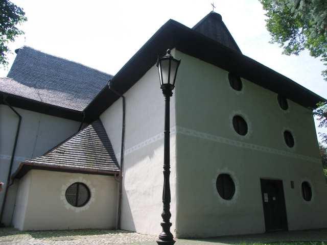 Zabytkowy kościół ewangielicki