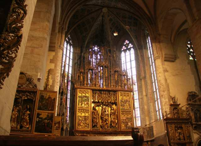 Lewocza, ołtarz , kościół św. Jakuba