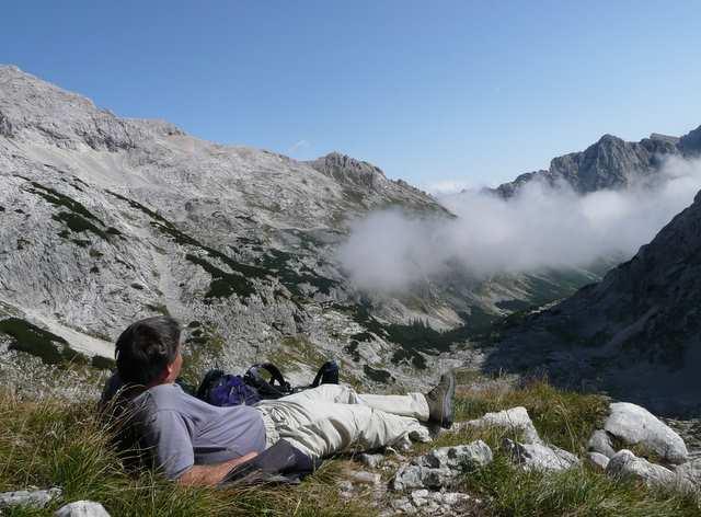 Słowenia, zapatrzony w piękno przyrody