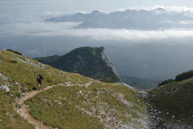 przełęcz Stapce, szlak
