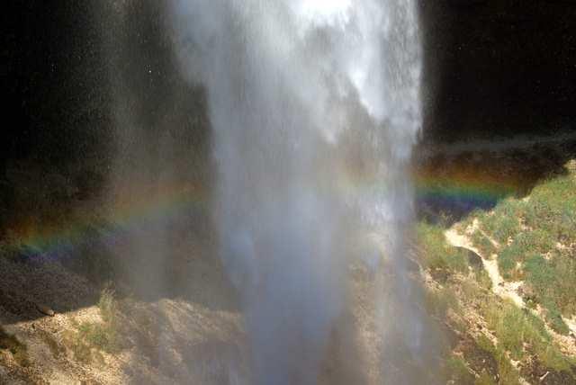 Słowenia, wodospad