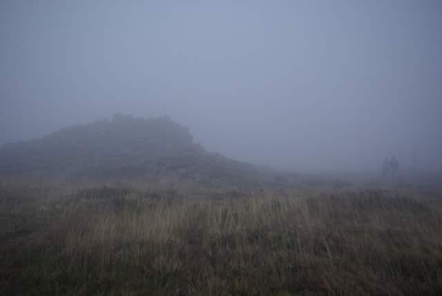Śnieżnik we mgle