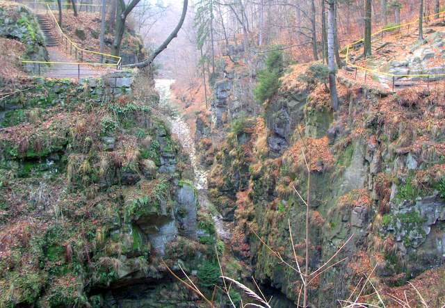 wodospad wilczki, międzygórze