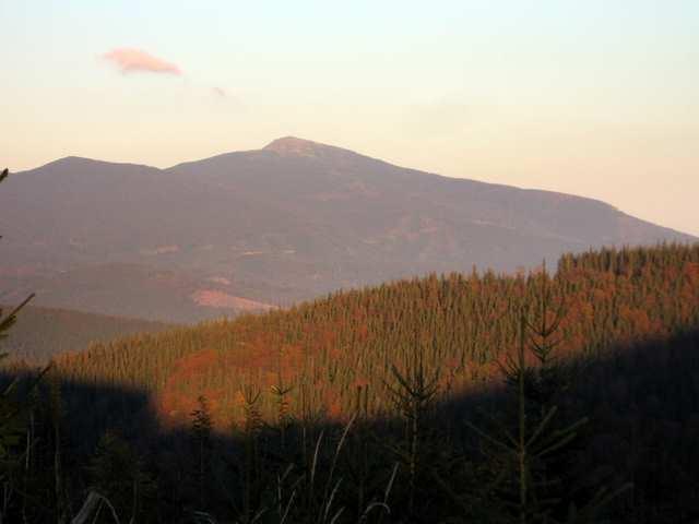 Babia Góra ze stoków Pilska