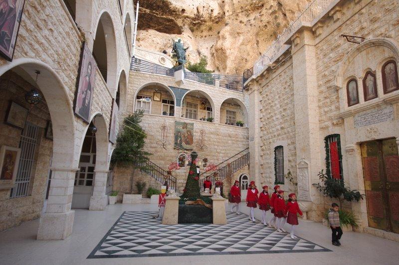 Maaloula, Maalula, Malula klasztor świętej Tekli