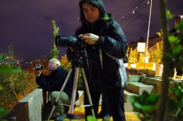 Damaszek, plener fotograficzny na wzgórzu miłości