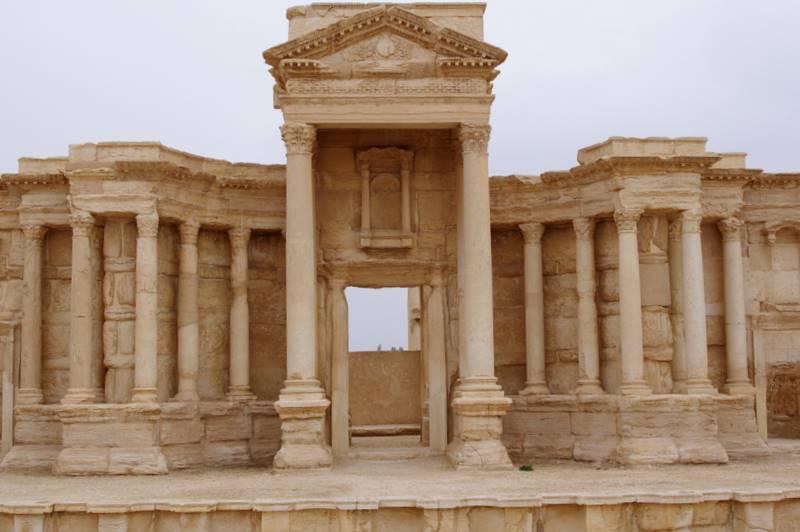 Palmyra  teatr scena