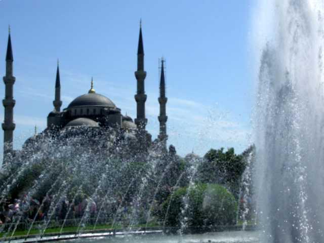 Błękitny Meczet - Istambuł