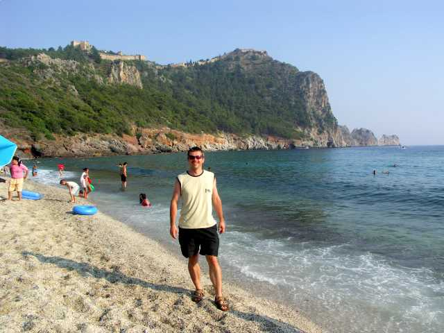Plaża Kleopatry,Analya,Turcja