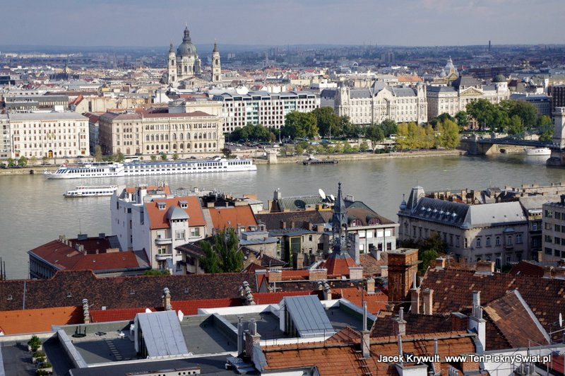 Budapeszt panorama z Baszt Rybackich