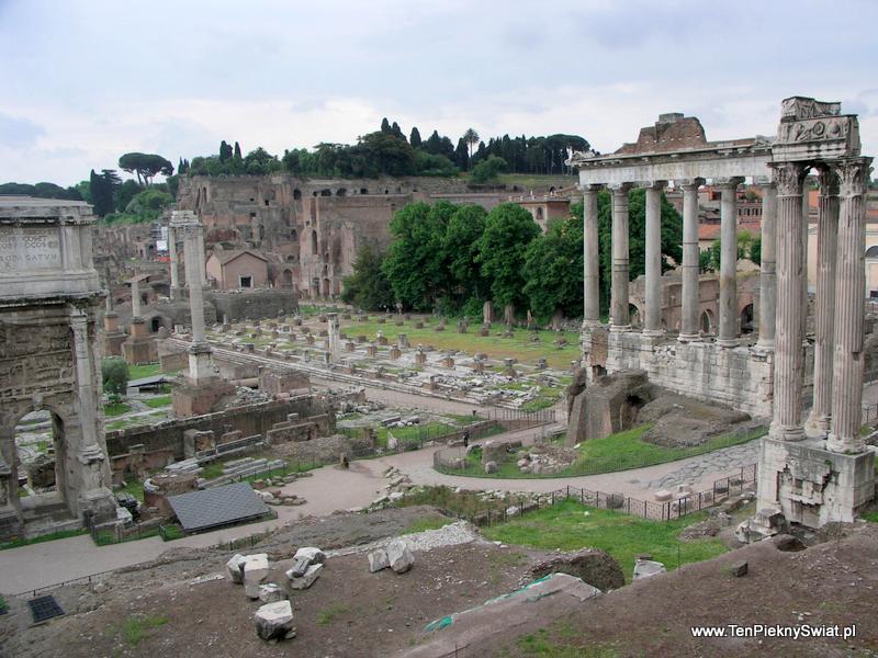 Forum Romanum Rzym, Włochy