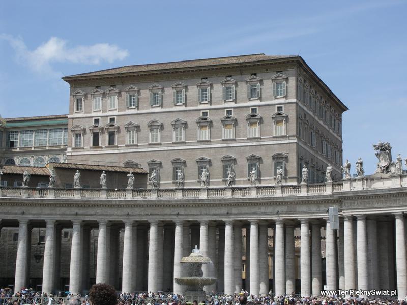 Okno papieskie Rzym