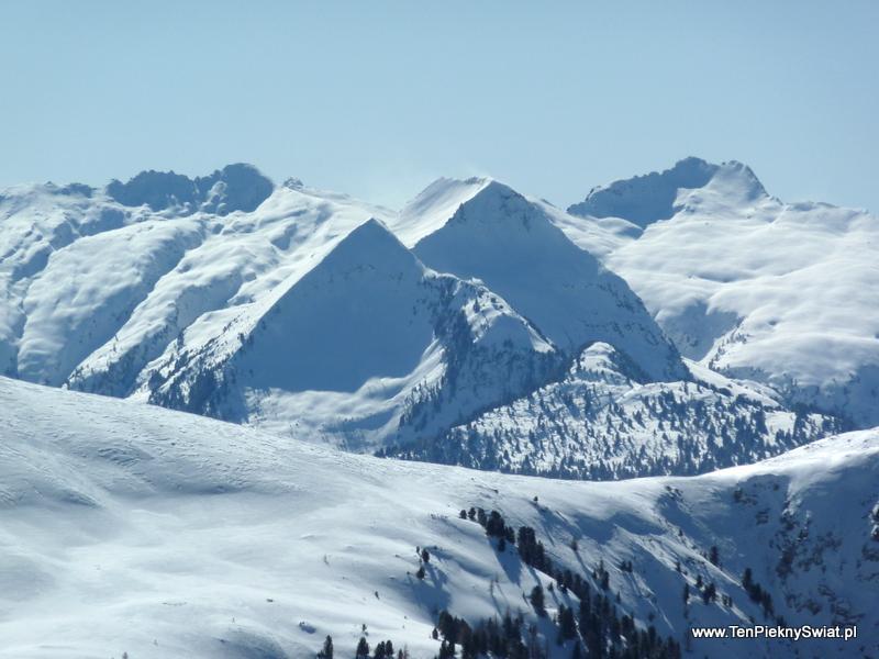 Dolomity zimą val di Fiemme