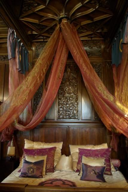Zamek Czocha - sypialnia