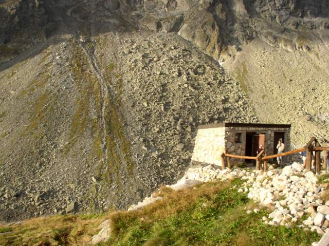 Zbójnicka Chata, kibelek, Dolina Staroleśna