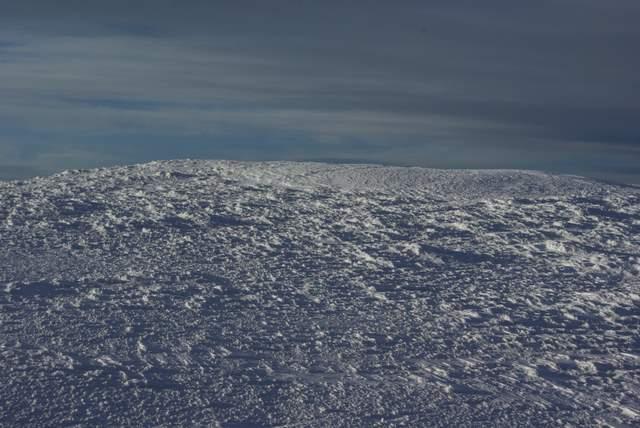 Babia Góra, pola śnieżne