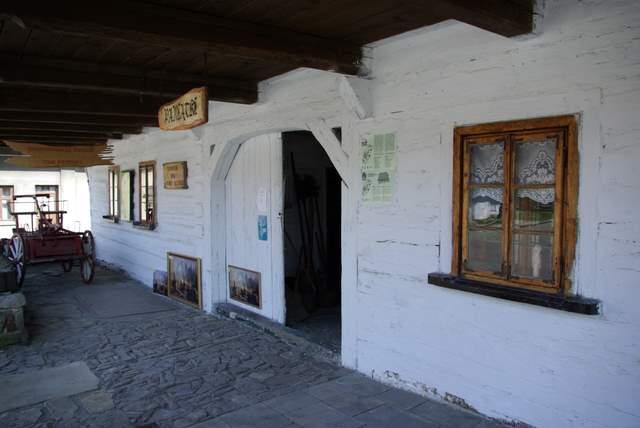 Lancokorona muzeum, Izba muzealna
