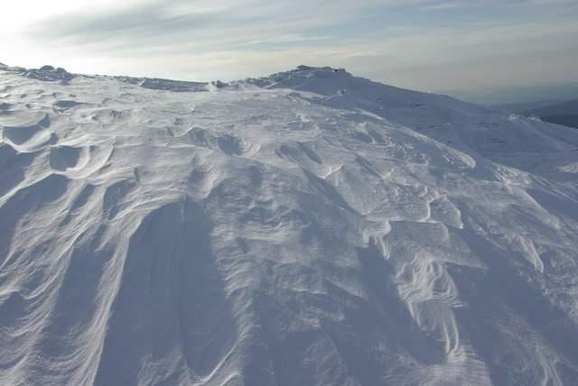 śnieżne krajobrazy