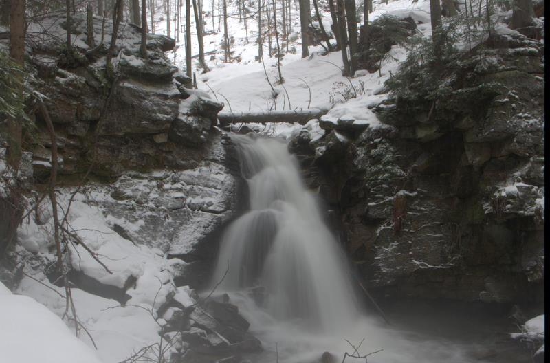 Wodospad Biała Wisełka, Kaskady Rodła