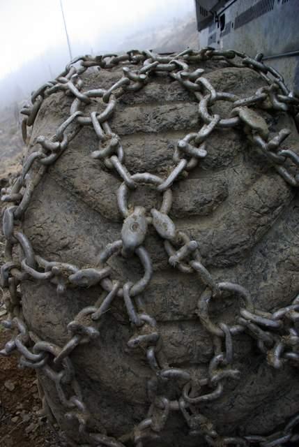 łańcuchy na kołach