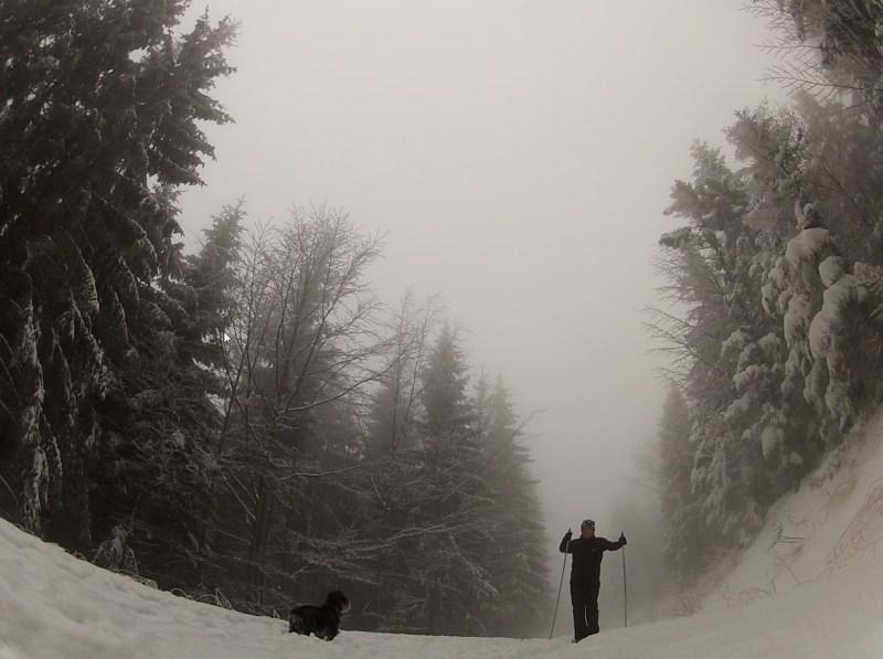Wigilia Bożego Narodzenia na nartach