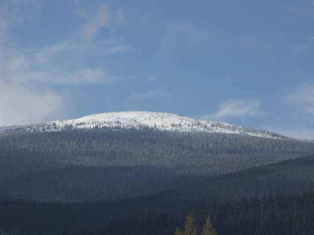 Babia Góra zimą, widok z Orawy