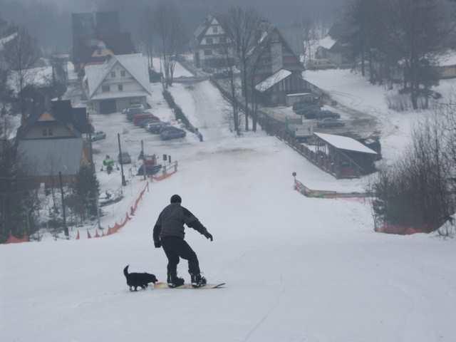 Snowboard, trening Białka Tatrzańska