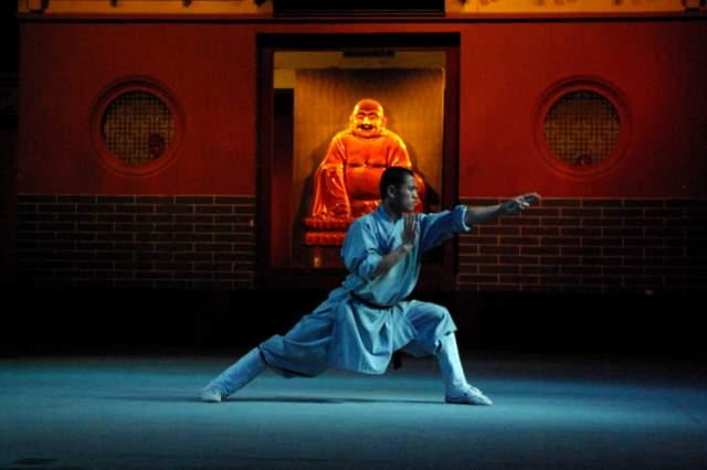 Shaolin Kung Fu, mnich