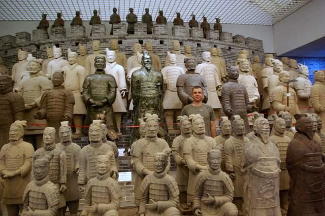 żołnierze terakotowej armii