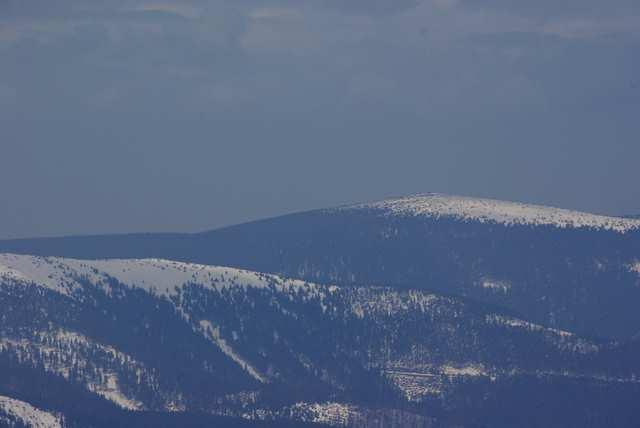 Widok z Pradziada, Śnieżnik