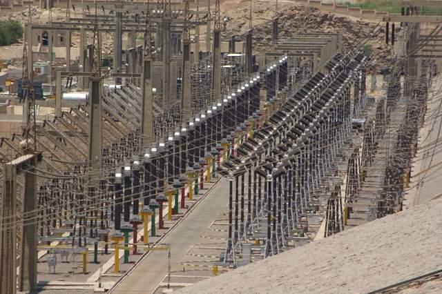 Wielka Tama Asuańska elektrownia