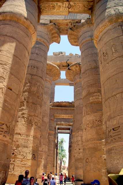 Luxor, świątynia w Karnak