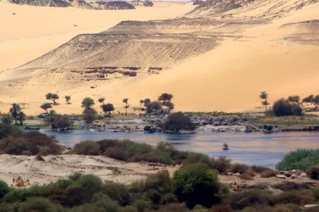Pierwsza Katarakta Nilu