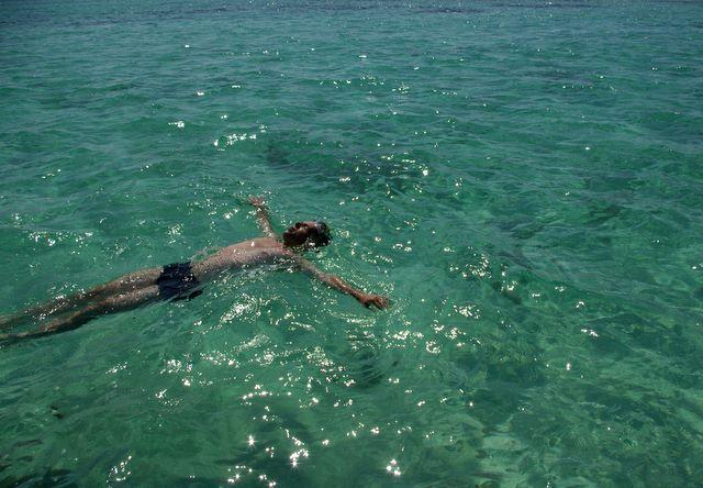 Morze Czerwone, pływanie