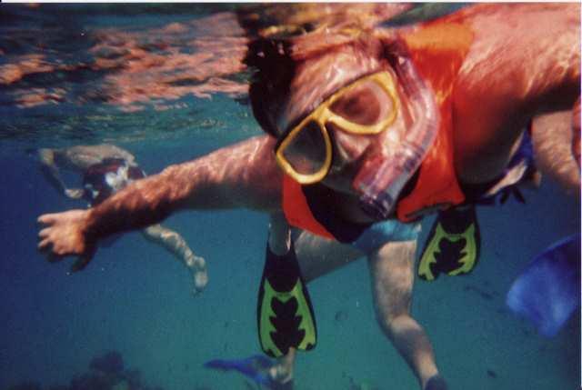 nurkowanie przy rafie koralowej
