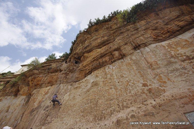 wspinaczka Debre Damo Etiopia klasztor monastyr climbing