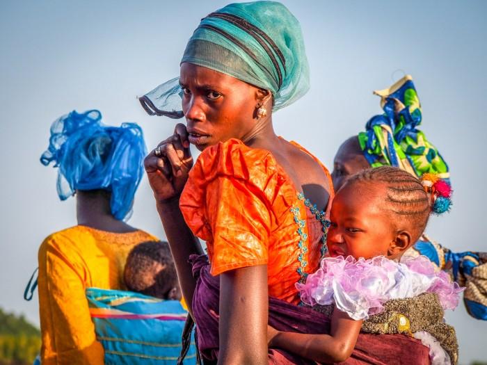 Gambia i Senegal - Kobiety  Gambii