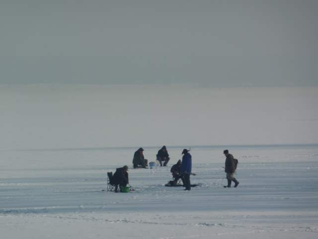 Pławniowice, rybacy, łowienie ryb