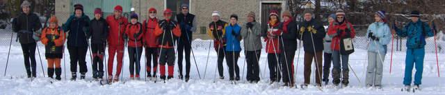 narciarze biegowi, Rachowice