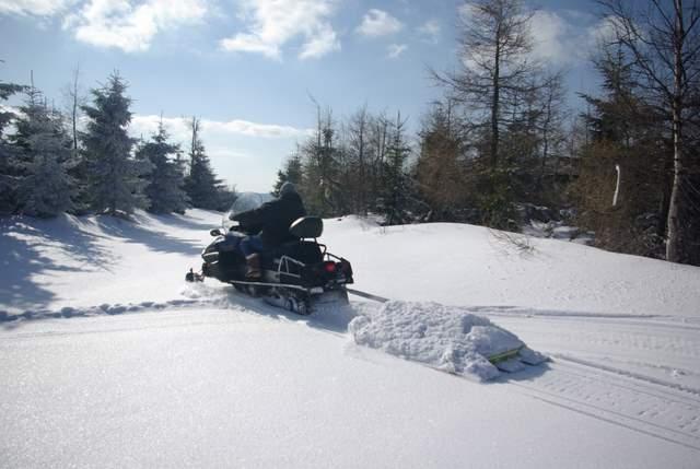 Góry Bystrzyckie, Jagodna, Spalona,narty biegowe