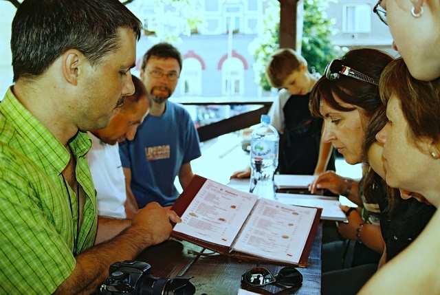 Zlote Hory - restauracja