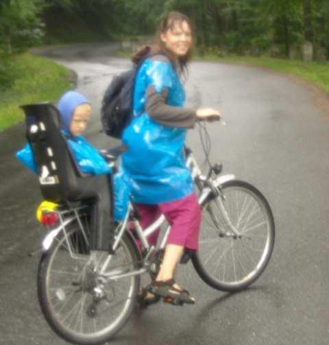 Góry Stołowe - rower