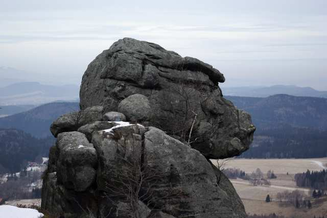 Szczeliniec Wielki - kamienne figury