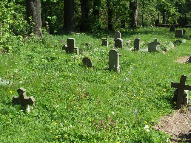 Pasterka, opuszczony cmentarz